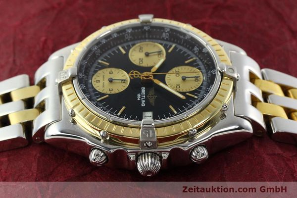 Used luxury watch Breitling Chronomat chronograph steel / gold automatic Kal. B13 ETA 7750 Ref. D13048  | 142100 05