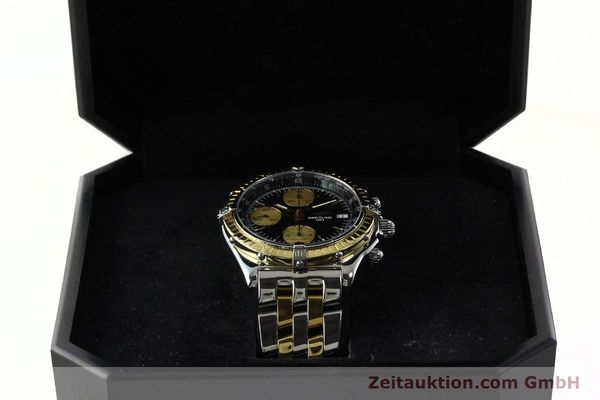 Used luxury watch Breitling Chronomat chronograph steel / gold automatic Kal. B13 ETA 7750 Ref. D13048  | 142100 07