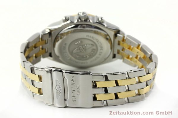 Used luxury watch Breitling Chronomat chronograph steel / gold automatic Kal. B13 ETA 7750 Ref. D13048  | 142100 11