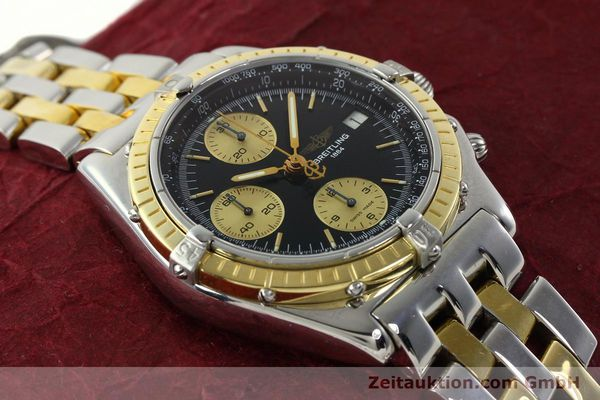 Used luxury watch Breitling Chronomat chronograph steel / gold automatic Kal. B13 ETA 7750 Ref. D13048  | 142100 14