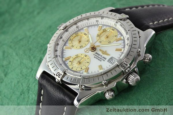 Used luxury watch Breitling Chronomat chronograph steel automatic Kal. B13 ETA 7750 Ref. A13050.1  | 142101 01