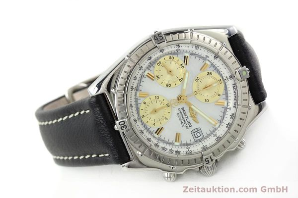 Used luxury watch Breitling Chronomat chronograph steel automatic Kal. B13 ETA 7750 Ref. A13050.1  | 142101 03