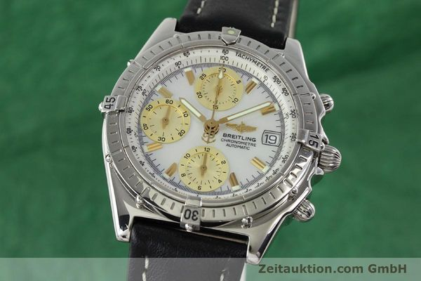 Used luxury watch Breitling Chronomat chronograph steel automatic Kal. B13 ETA 7750 Ref. A13050.1  | 142101 04