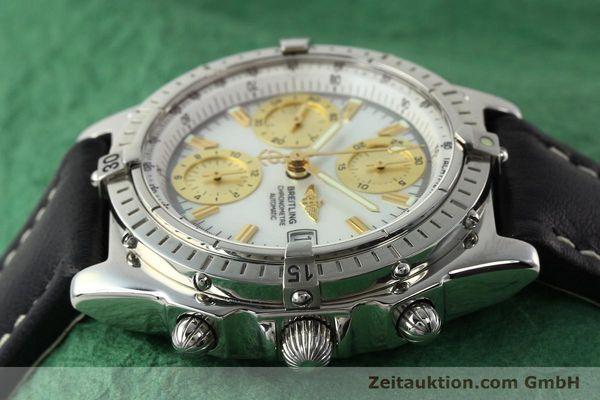 Used luxury watch Breitling Chronomat chronograph steel automatic Kal. B13 ETA 7750 Ref. A13050.1  | 142101 05