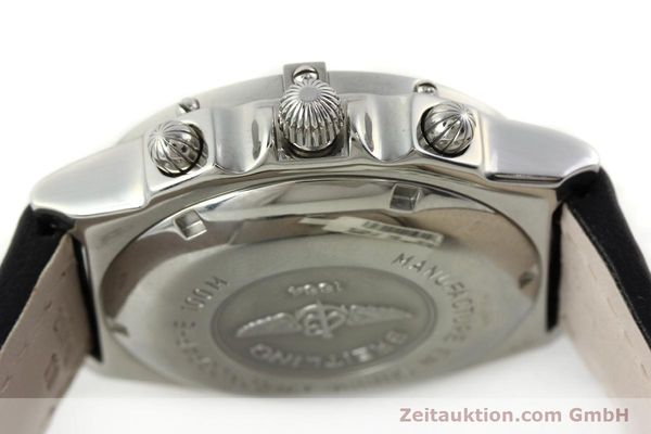 Used luxury watch Breitling Chronomat chronograph steel automatic Kal. B13 ETA 7750 Ref. A13050.1  | 142101 08