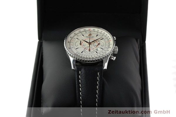 Used luxury watch Breitling Montbrillant chronograph steel automatic Kal. B41 ETA 2892A2 Ref. A41370  | 142102 07