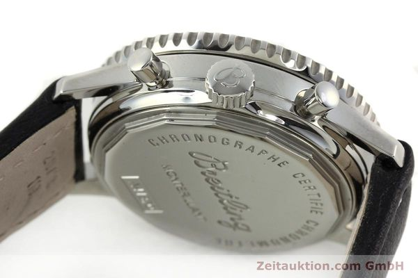 Used luxury watch Breitling Montbrillant chronograph steel automatic Kal. B41 ETA 2892A2 Ref. A41370  | 142102 08
