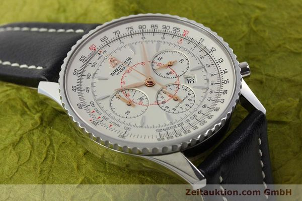 Used luxury watch Breitling Montbrillant chronograph steel automatic Kal. B41 ETA 2892A2 Ref. A41370  | 142102 13