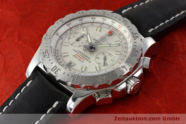 Used luxury watch Breitling Skyracer chronograph steel automatic Kal. B27 ETA 2892A2 Ref. A27362  | 142105 01