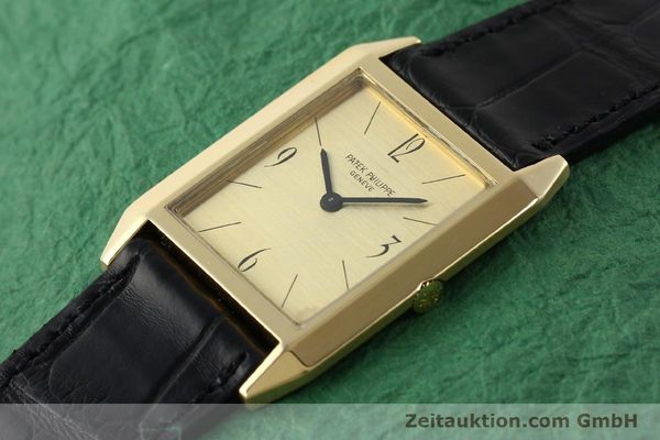 Used luxury watch Patek Philippe * 18 ct gold manual winding Kal. 175 Ref. 3491  | 142107 01