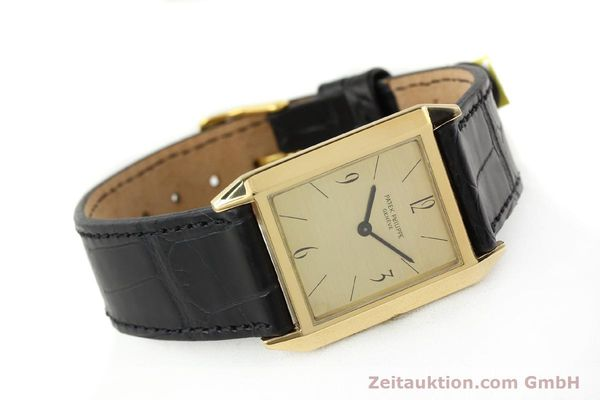 Used luxury watch Patek Philippe * 18 ct gold manual winding Kal. 175 Ref. 3491  | 142107 03