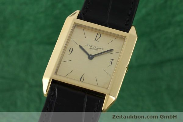 Used luxury watch Patek Philippe * 18 ct gold manual winding Kal. 175 Ref. 3491  | 142107 04