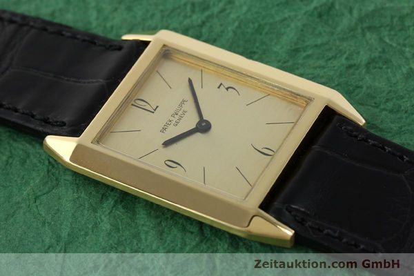 Used luxury watch Patek Philippe * 18 ct gold manual winding Kal. 175 Ref. 3491  | 142107 13