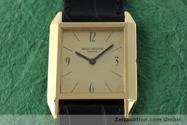 Used luxury watch Patek Philippe * 18 ct gold manual winding Kal. 175 Ref. 3491  | 142107 14
