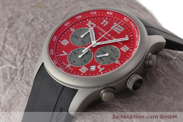 Used luxury watch Porsche Design Dashbord chronograph titanium automatic Kal. ETA 2894-2 Ref. 6612.10/2  | 142111 01