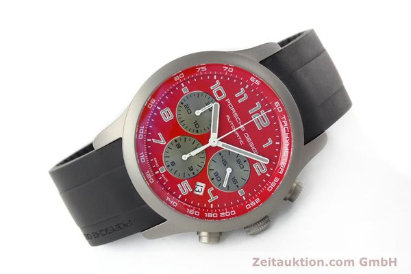 Used luxury watch Porsche Design Dashbord chronograph titanium automatic Kal. ETA 2894-2 Ref. 6612.10/2  | 142111 03