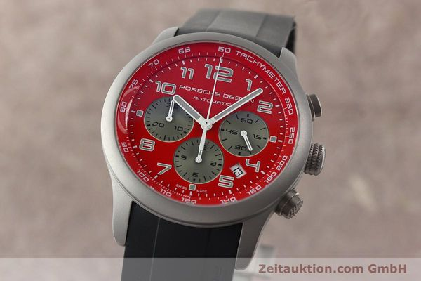 Used luxury watch Porsche Design Dashbord chronograph titanium automatic Kal. ETA 2894-2 Ref. 6612.10/2  | 142111 04