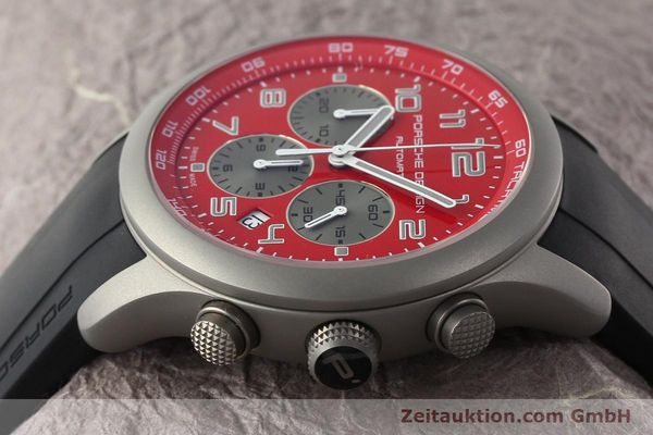 Used luxury watch Porsche Design Dashbord chronograph titanium automatic Kal. ETA 2894-2 Ref. 6612.10/2  | 142111 05