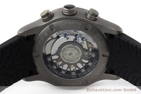 Used luxury watch Porsche Design Dashbord chronograph titanium automatic Kal. ETA 2894-2 Ref. 6612.10/2  | 142111 09