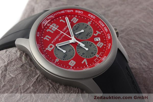 Used luxury watch Porsche Design Dashbord chronograph titanium automatic Kal. ETA 2894-2 Ref. 6612.10/2  | 142111 15