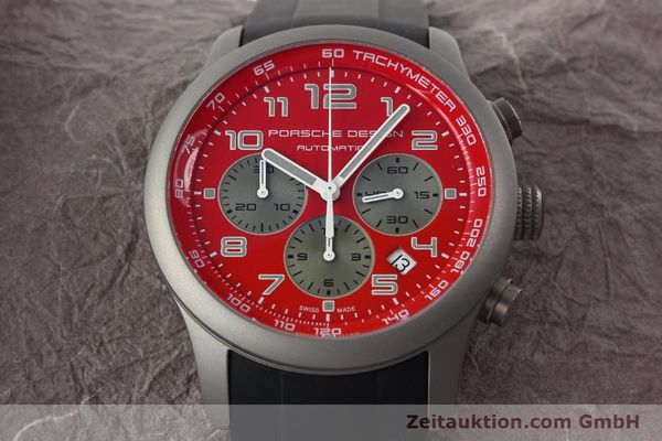 Used luxury watch Porsche Design Dashbord chronograph titanium automatic Kal. ETA 2894-2 Ref. 6612.10/2  | 142111 16