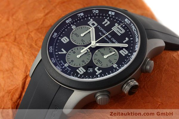 Used luxury watch Porsche Design Dashbord chronograph titanium automatic Kal. ETA 2894-2 Ref. 6612.15/2  | 142112 01