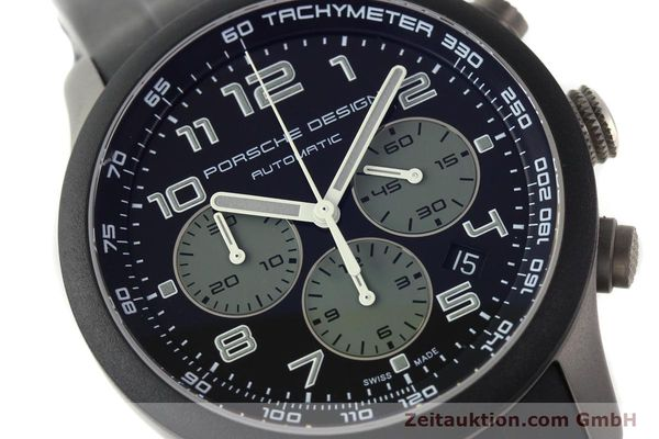 Used luxury watch Porsche Design Dashbord chronograph titanium automatic Kal. ETA 2894-2 Ref. 6612.15/2  | 142112 02