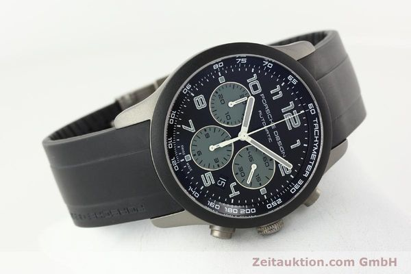 Used luxury watch Porsche Design Dashbord chronograph titanium automatic Kal. ETA 2894-2 Ref. 6612.15/2  | 142112 03