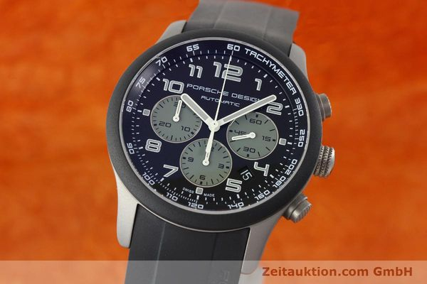 Used luxury watch Porsche Design Dashbord chronograph titanium automatic Kal. ETA 2894-2 Ref. 6612.15/2  | 142112 04