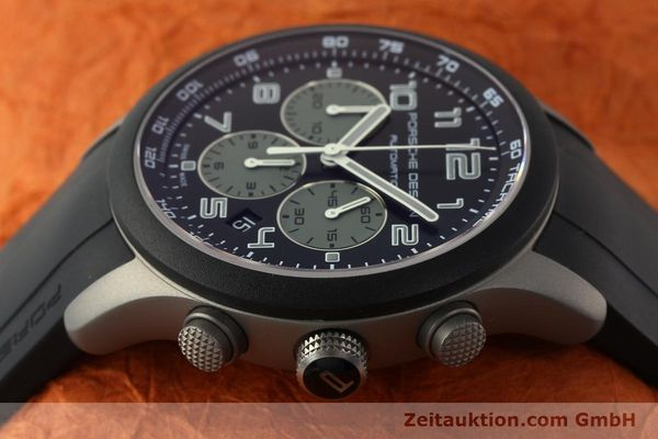 Used luxury watch Porsche Design Dashbord chronograph titanium automatic Kal. ETA 2894-2 Ref. 6612.15/2  | 142112 05