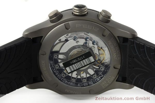 Used luxury watch Porsche Design Dashbord chronograph titanium automatic Kal. ETA 2894-2 Ref. 6612.15/2  | 142112 09
