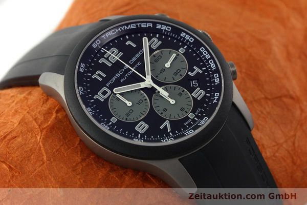 Used luxury watch Porsche Design Dashbord chronograph titanium automatic Kal. ETA 2894-2 Ref. 6612.15/2  | 142112 15