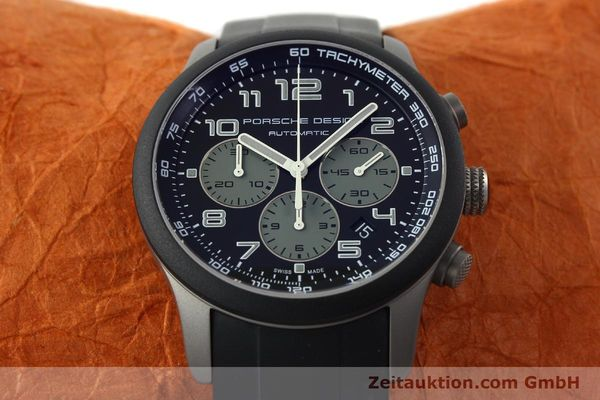 Used luxury watch Porsche Design Dashbord chronograph titanium automatic Kal. ETA 2894-2 Ref. 6612.15/2  | 142112 16