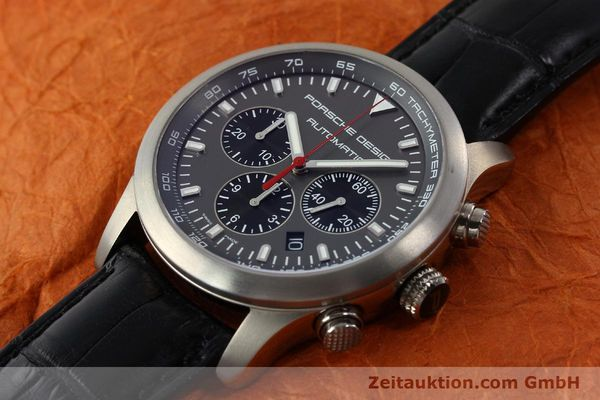 Used luxury watch Porsche Design Dashbord chronograph titanium automatic Kal. ETA 2894-2 Ref. 6612.11/2  | 142114 01