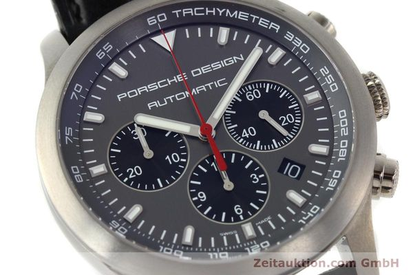 Used luxury watch Porsche Design Dashbord chronograph titanium automatic Kal. ETA 2894-2 Ref. 6612.11/2  | 142114 02