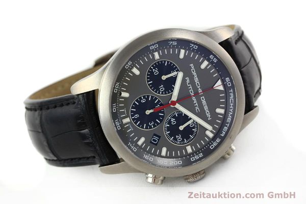 Used luxury watch Porsche Design Dashbord chronograph titanium automatic Kal. ETA 2894-2 Ref. 6612.11/2  | 142114 03
