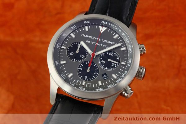 Used luxury watch Porsche Design Dashbord chronograph titanium automatic Kal. ETA 2894-2 Ref. 6612.11/2  | 142114 04