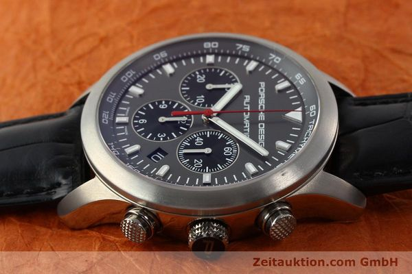 Used luxury watch Porsche Design Dashbord chronograph titanium automatic Kal. ETA 2894-2 Ref. 6612.11/2  | 142114 05