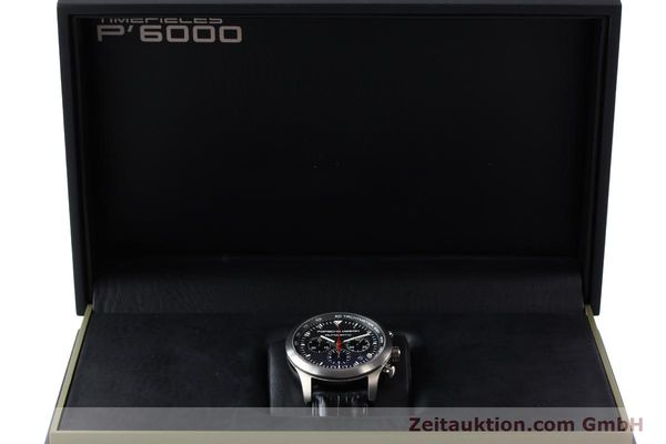 Used luxury watch Porsche Design Dashbord chronograph titanium automatic Kal. ETA 2894-2 Ref. 6612.11/2  | 142114 07