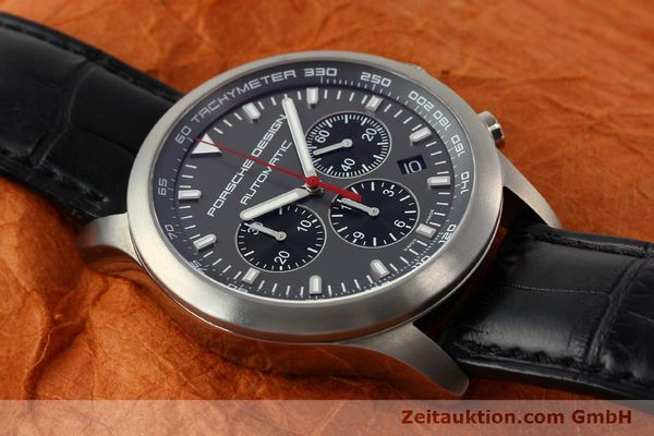 Used luxury watch Porsche Design Dashbord chronograph titanium automatic Kal. ETA 2894-2 Ref. 6612.11/2  | 142114 15