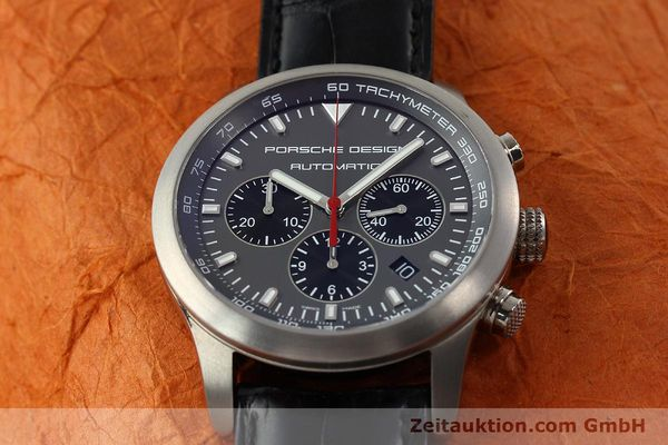 Used luxury watch Porsche Design Dashbord chronograph titanium automatic Kal. ETA 2894-2 Ref. 6612.11/2  | 142114 16