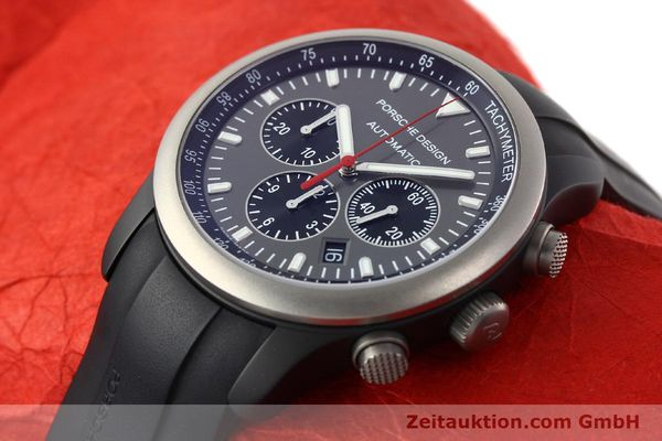 Used luxury watch Porsche Design Dashbord chronograph aluminium automatic Kal. ETA 2894-2 Ref. 6612.14  | 142115 01