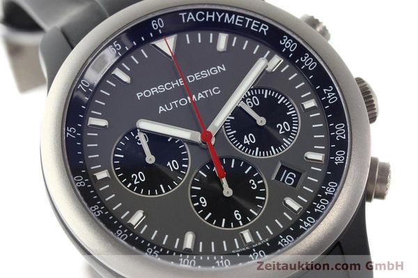 Used luxury watch Porsche Design Dashbord chronograph aluminium automatic Kal. ETA 2894-2 Ref. 6612.14  | 142115 02