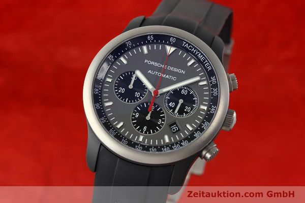 Used luxury watch Porsche Design Dashbord chronograph aluminium automatic Kal. ETA 2894-2 Ref. 6612.14  | 142115 04