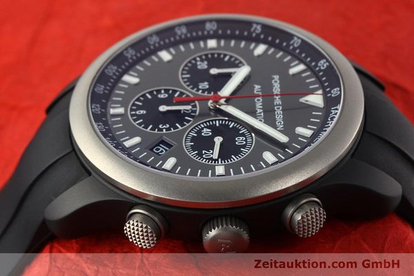 Used luxury watch Porsche Design Dashbord chronograph aluminium automatic Kal. ETA 2894-2 Ref. 6612.14  | 142115 05