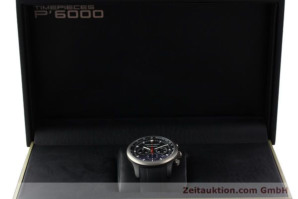 Used luxury watch Porsche Design Dashbord chronograph aluminium automatic Kal. ETA 2894-2 Ref. 6612.14  | 142115 07