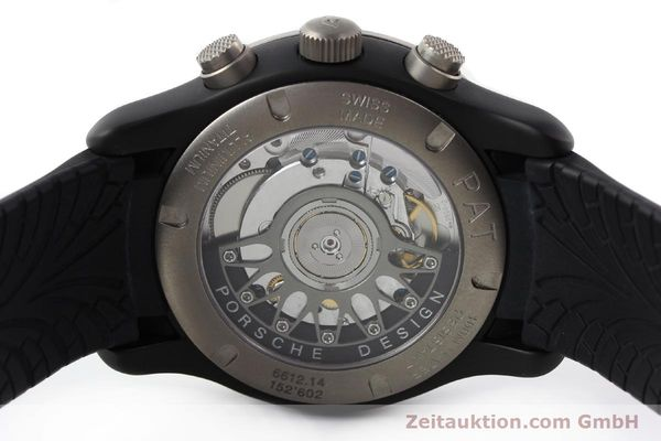 Used luxury watch Porsche Design Dashbord chronograph aluminium automatic Kal. ETA 2894-2 Ref. 6612.14  | 142115 09