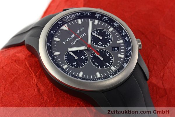 Used luxury watch Porsche Design Dashbord chronograph aluminium automatic Kal. ETA 2894-2 Ref. 6612.14  | 142115 15
