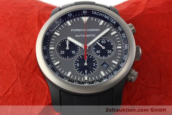 Used luxury watch Porsche Design Dashbord chronograph aluminium automatic Kal. ETA 2894-2 Ref. 6612.14  | 142115 16
