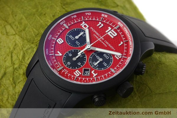 Used luxury watch Porsche Design Dashbord chronograph aluminium automatic Kal. ETA 2894-2 Ref. 6612.17/3  | 142117 01